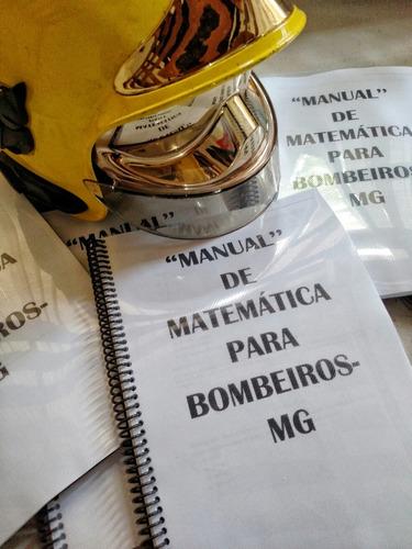 manual de matemática bombeiros-mg