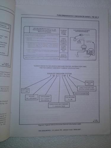 manual de mecánica automotriz tbi  truck en ingles