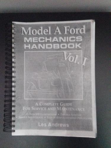 manual de mecánica ford a -para restauradores