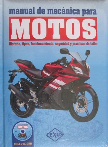 manual de mecánica para motos/ varios autores/ lexus.