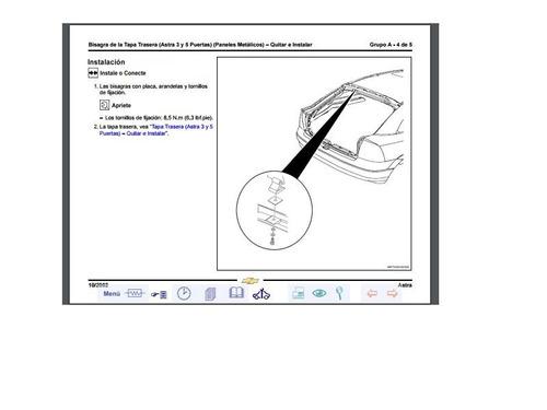 manual de mecánica y carrocería chevrolet astra (2002 -2003)