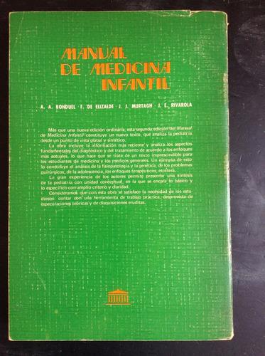 manual de medicina infantil - alfonso a. bonduel - el ateneo