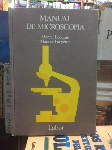manual de microscopía. locquin y langeron. microscopio
