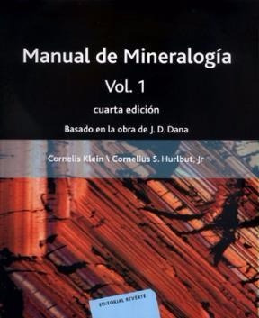 manual de mineralogía vol 1 - h y k cornelius - reverte