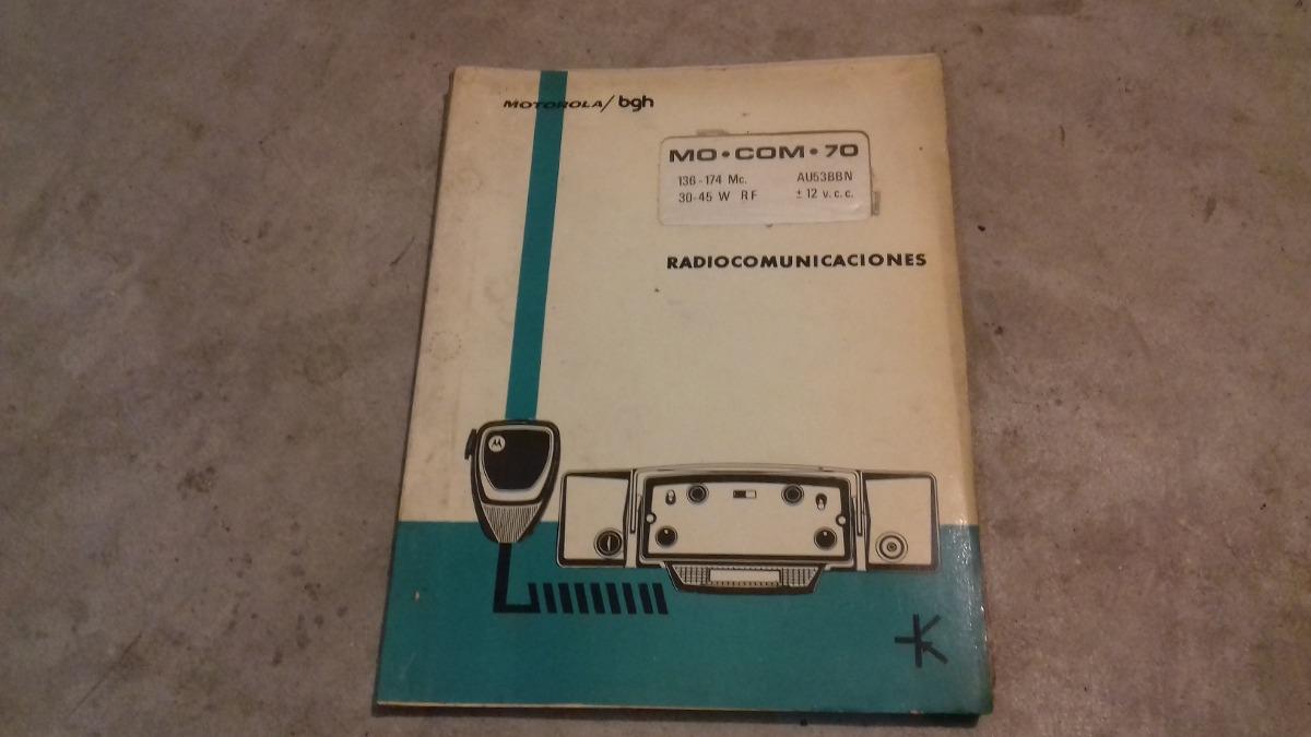 manual de mocom 70 motorola 700 00 en mercado libre rh articulo mercadolibre com ar Motorola Mocom 70% with Repeater Dial Head Sheriff Motorola Mocom 70 Radio