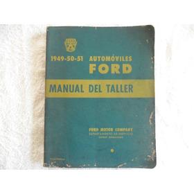Manual De Montagem Automóvel Ford 1949 / 50 / 51