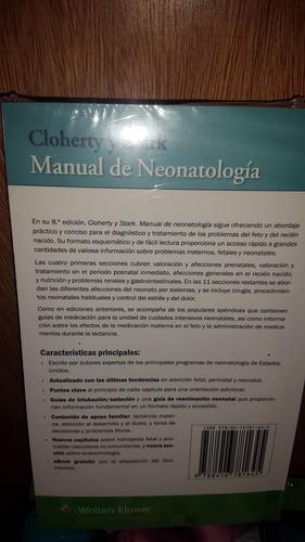 manual de neonatología 8ª ed cloherty y stark