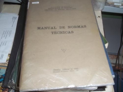 manual de normas técnicas ministério  do exercito 1958