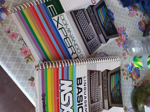 manual de operação e linguagem do microcomputador msx basic