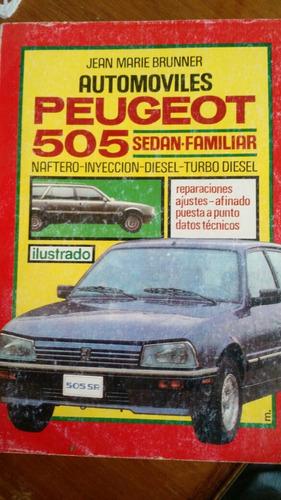 manual de peugeot 505 original
