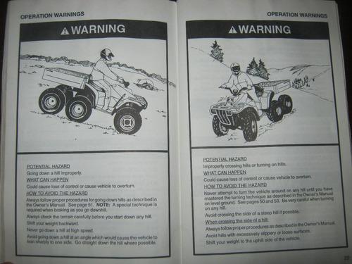 manual de polaris 400 6x6