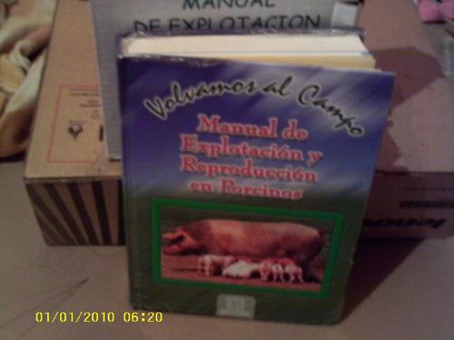 manual, de porcino, libro, de agropecuaria, nuevo, economico