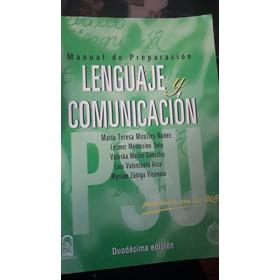Manual De Preparación Psu Lenguaje Y Comunicación  Edic.  Uc