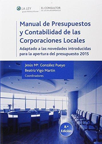 manual de presupuestos y contabilidad de las corporaciones