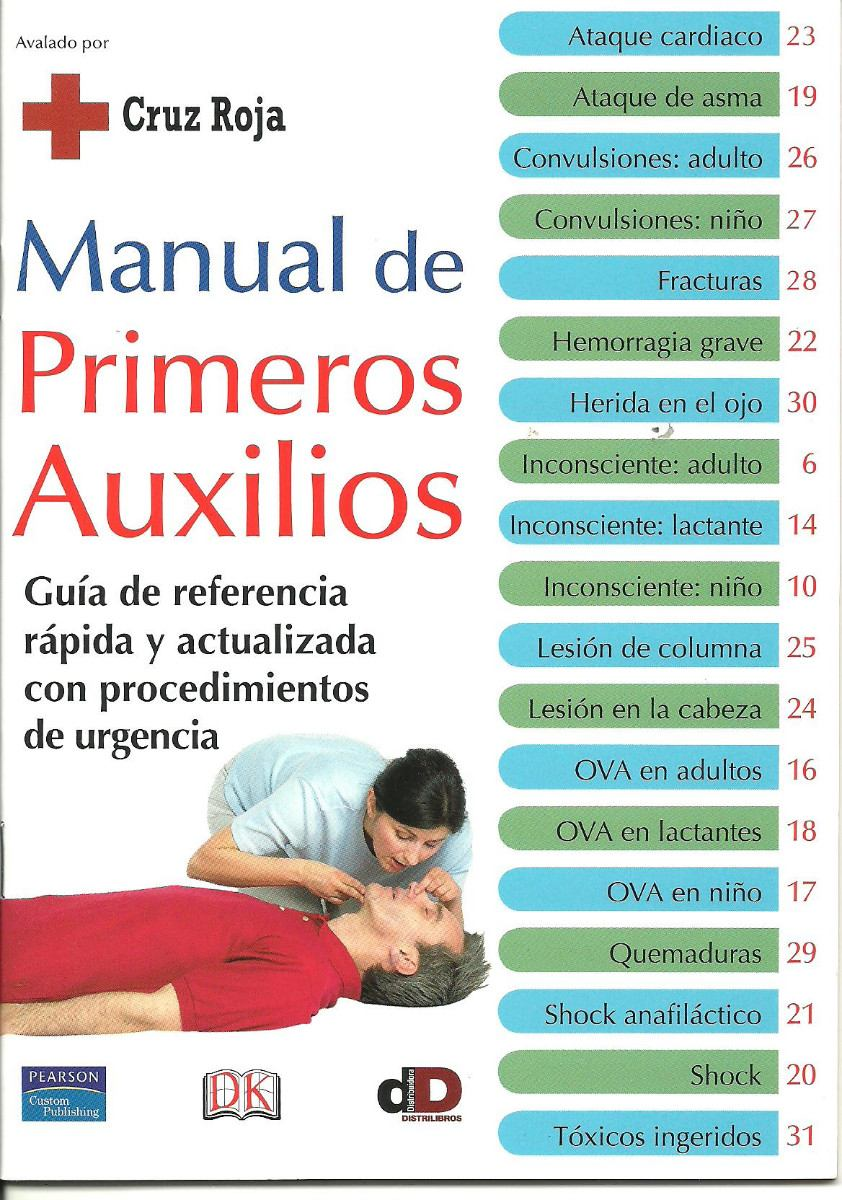 Manual de primeros auxilios en pdf avalado por la cruz for Manual de compras de un restaurante pdf