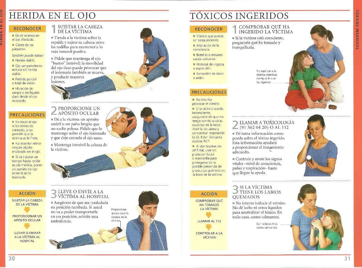 Manual De Primeros Auxilios En Pdf Avalado Por La Cruz