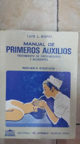 manual de primeros auxilios - luis boffi