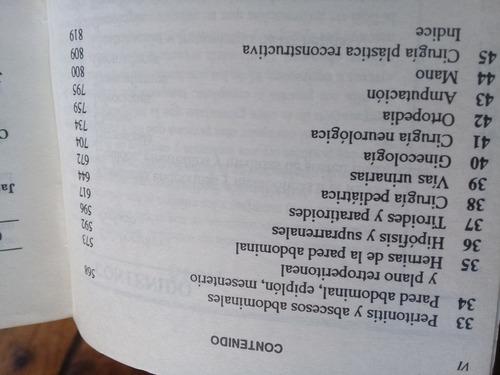 manual de principios de cirugía schwartz shires spencer 1993