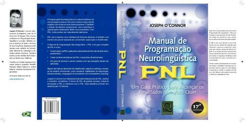 manual de programação neurolinguística pnl - joseph o connor