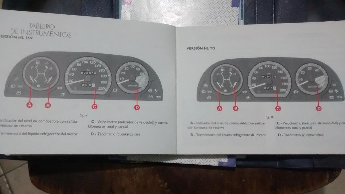 manual de propietario de fiat siena 96 00 completisimo 225 00 rh articulo mercadolibre com ar manual de fiat siena 98 manual do fiat siena hlx 1.8