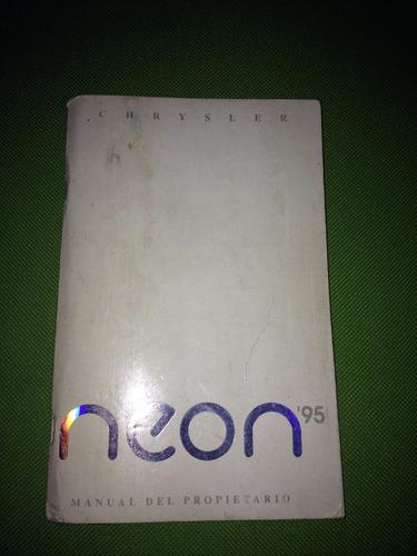 manual de propietario neon ´95