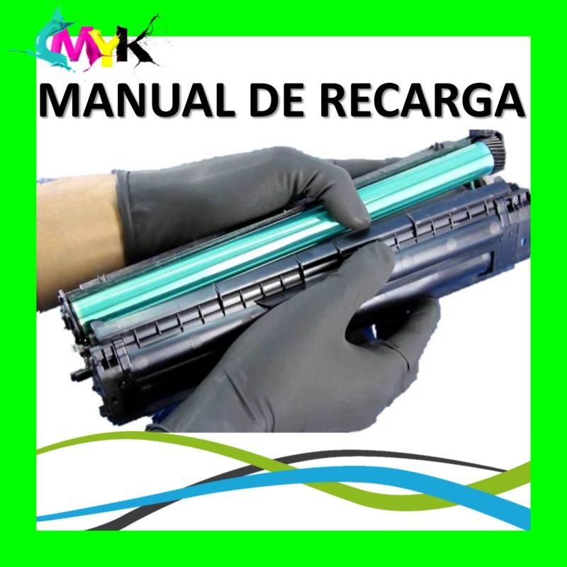manual de recarga de toner hp 85a 35a 36a 78a 83a 88a bs 634 471 rh articulo mercadolibre com ve