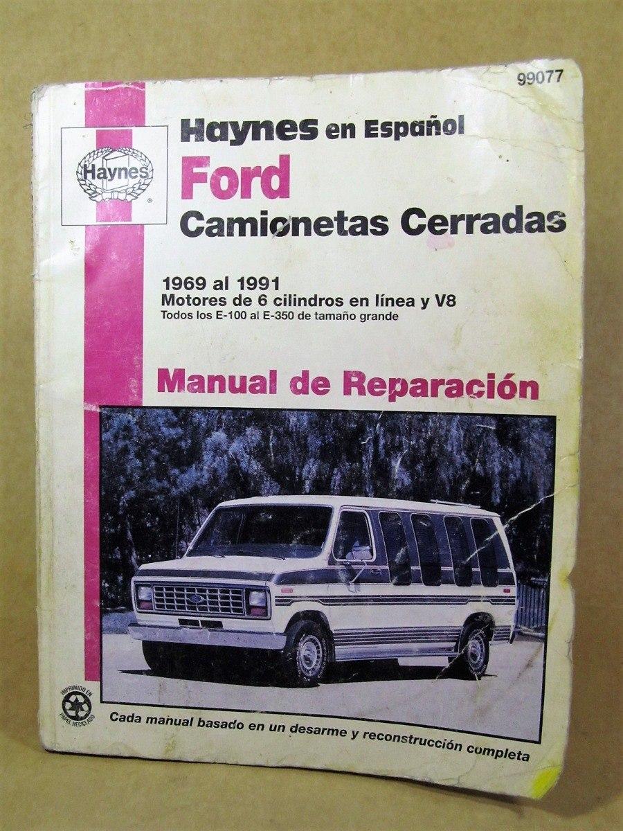 manual de reparación ford camionetas cerradas. Cargando zoom.