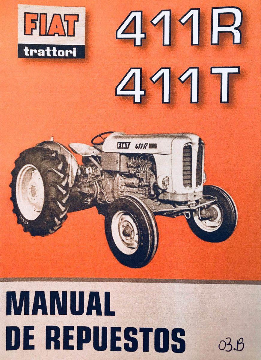 manual de repuestos tractor fiat 411r 411t 500 00 en mercado libre rh articulo mercadolibre com ar fiat 411r guide fiat 411r service manual