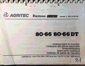 Manual De Repuestos Tractor Fiat 80 66 80 66dt