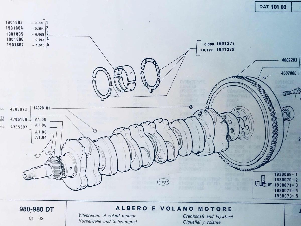 manual de repuestos tractor fiat 980. Cargando zoom.