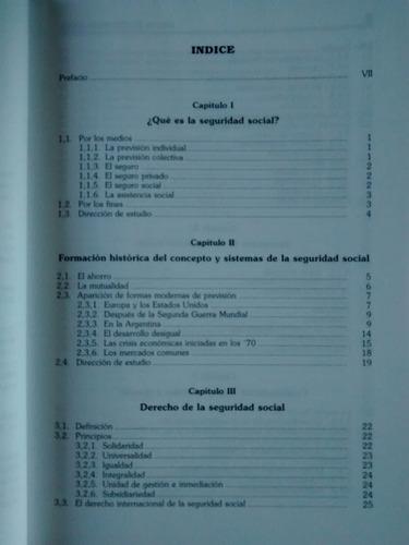 manual de seguridad social alicia haydee giorgi ed. macchi