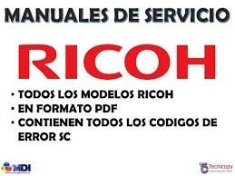 manual de servicio ricoh aficio 1013