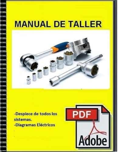 manual de servicio taller chevrolet blazer s10 99 - 04
