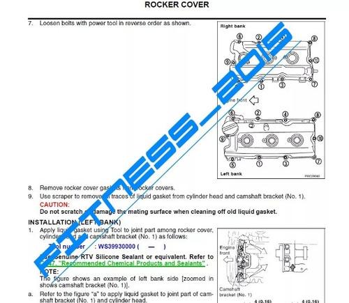 manual de servicio taller nissan maxima 2005 full