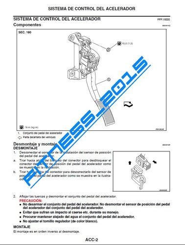 manual de servicio taller nissan pathfinder 2009 español
