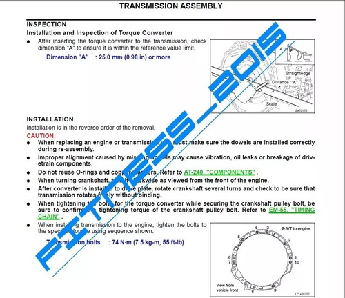 manual de servicio taller nissan xterra 2012 2013 2014 full