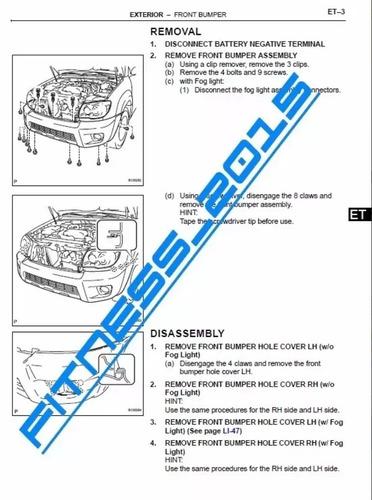 manual de servicio taller toyota 4runner 2006 - 2008 full