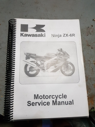 manual de serviço kawasaki ninja zx6 zx636