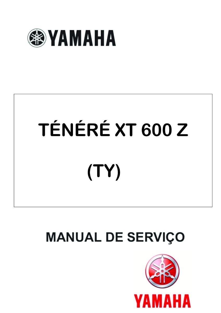 manual de serviço moto yamaha ténéré xt 600 z (ty). Carregando zoom.