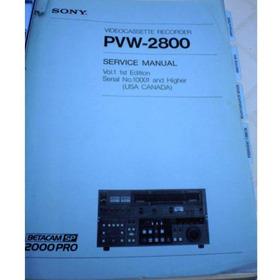 Manual De Serviço Pvw 2800 2 Volumes
