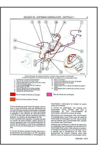 manual de serviço trator new holland serie ts