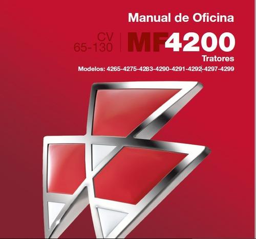 manual de serviço tratores mf série 4200