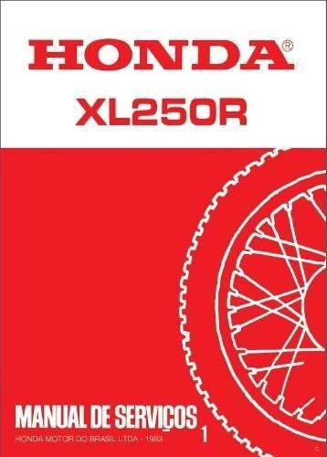 Xl 250 pdf xl xr 175 nsr 250 manual de servi os honda xl 250 1982 1983 pdf manual de servi os honda fandeluxe Gallery