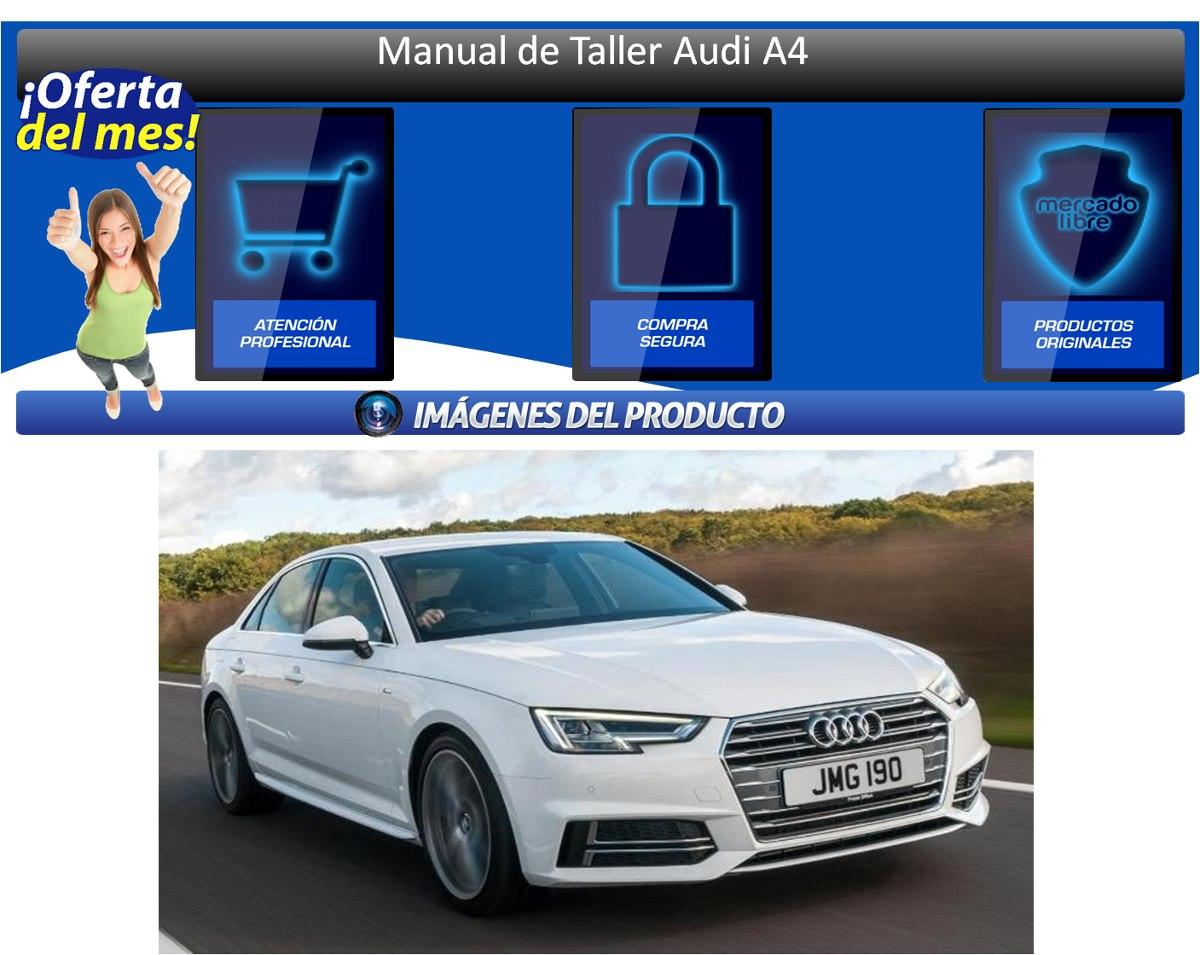 manual de taller audi a4 bs 2 847 500 00 en mercado libre rh articulo mercadolibre com ve Audi A3 descargar manual taller audi a4 b6