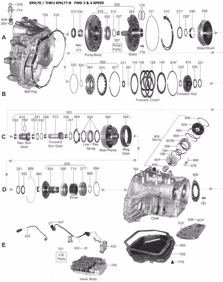 manual de taller caja automatica mitsubishi galant mf