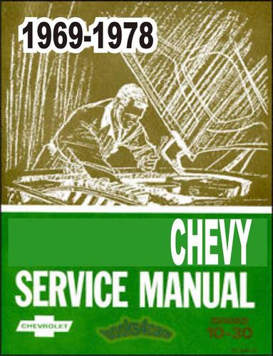 manual de taller chevrolet chevy 1969 1978 +despiece*usuario