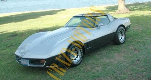 manual de taller - chevrolet corvette c2 c3 1963 - 1982 *