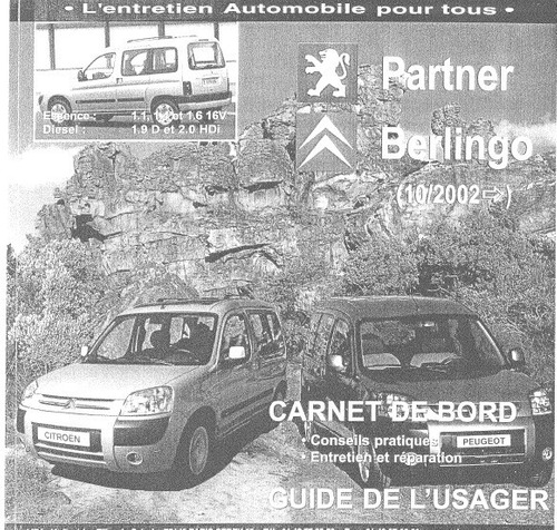 manual de taller citroen berlingo (2002-2008) envio gratis