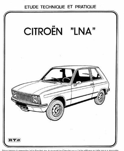 manual de taller citroen lna (1976-1986) envio gratis