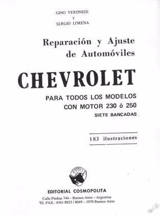 manual de taller completo chevrolet 400 ss